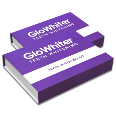 GloWhiter Teeth Whitening Double Kit